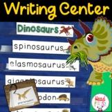 Dinosaur Pictionary Cards Vocabulary Writing Center Write the Room