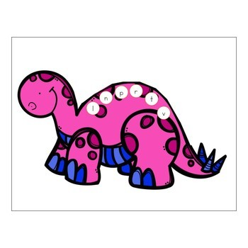 Dinosaur Theme Preschool & Kindergarten Learning Pack
