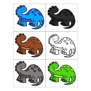 Preschool: Dinosaur Theme Learning Pack