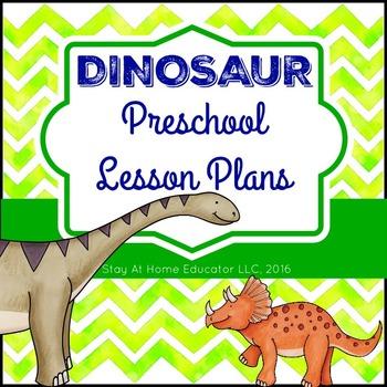 Dinosaur Theme Preschool Lesson Plans