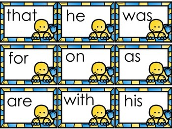 Dinosaur Theme Word Wall Words -Freebie  Fry First 50