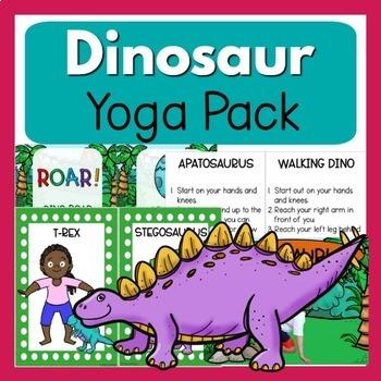 Dinosaur Theme Yoga Pack