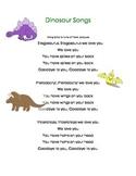 Dinosaur Themed Activitites