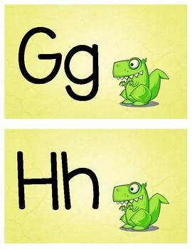 Dinosaur Themed Alphabet
