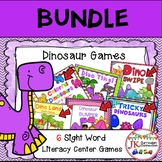 Dinosaur Themed BUNDLE of Literacy Learning Games
