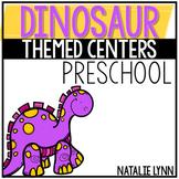 Dinosaur Themed Centers for Preschool, Pre-k, Tk