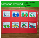 Dinosaur Themed File Folder Games