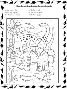 Dinosaur Themed Independent Work Bundle - Grade K -1