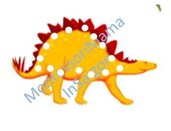 Dinosaur Themed Montessori Inspired Activity Set