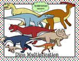 Dinosaur Themed Multiplication Fact Center