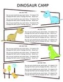 Dinosaur Themed Newsletter