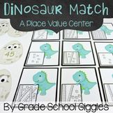 Free Downloads - Dinosaur Themed Place Value Matching Cards