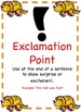 Dinosaur Themed - Punctuation Posters