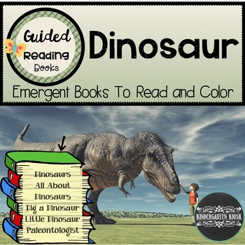 Dinosaur Themed Guided Readers