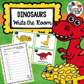 Dinosaur Themed Write the Room