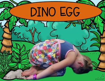 Dinosaur Themed Yoga - With Real Kids