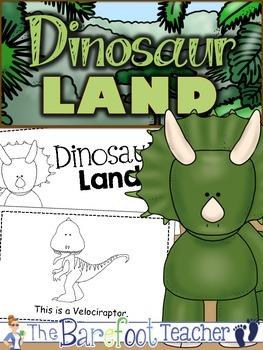 "Dinosaur ""This is a..."" Emergent Reader"