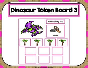 Dinosaur 10 Token Board 3