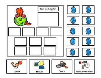 Dinosaur 10 Token Board