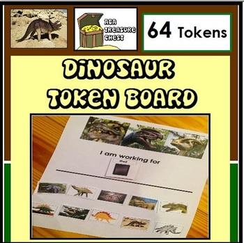 Dinosaur Token Board- Autism, ABA, Special Education