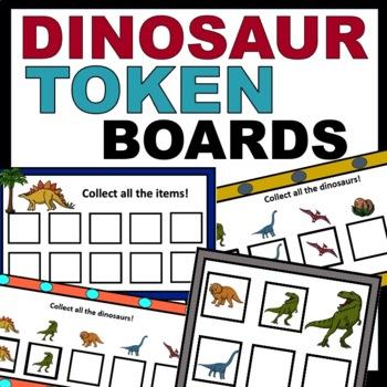 Dinosaur Token Boards