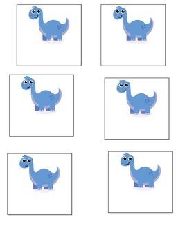 Dinosaur Transition Circles