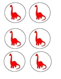 Dinosaur Transition Circles