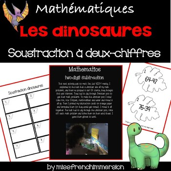 Les dinosaures - Soustractions