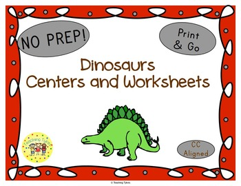 Dinosaurs Worksheets Activities Games Printables and More