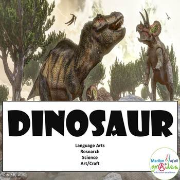 Dinosaur Unit         (See also my updated Dinosaur Unit with 35 extra pages)