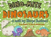 Dinosaur Unit {Common Core Aligned} {Literacy, Science and So Much More}