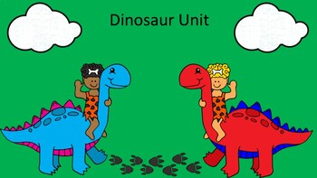 Dinosaur Unit: Grammar,Writing and Math