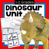 Dinosaur Unit First  Grade and Second Grade