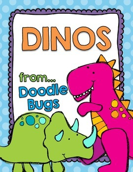 Dinosaur Unit: Literacy, Science, Math, Art .. Cross Curricular