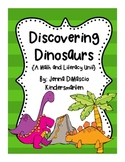 Dinosaur Unit {Literacy and Math Mini Unit}