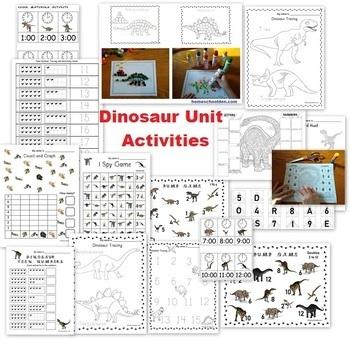 Dinosaur Unit and Lapbook