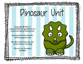 Dinosaur Unit for Early Elementary