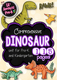 Dinosaur Unit for Pre-K and Kindergarten with Printables and Activities