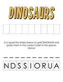 Dinosaur Unit for PreK and Kindergarten