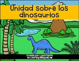 Dinosaur Unit in Spanish