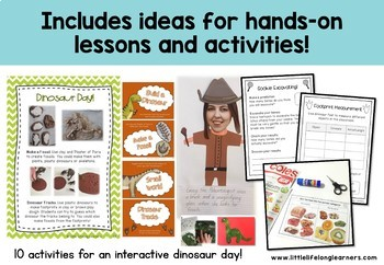Dinosaur Unit and activities
