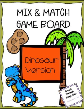 Dinosaur Universal Game Board