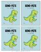 Dinosaur Valentine's Cards {Dino-Mite}