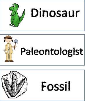 Dinosaur Vocabulary