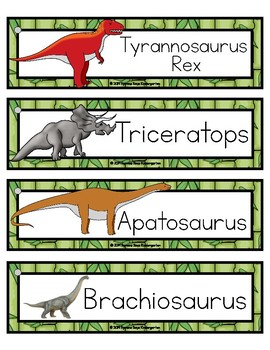 Dinosaur Vocabulary and Fact Cards (pdf)