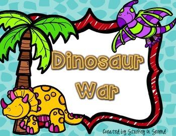 {$1 Deal} Dinosaur War Number Comparison Place Value Game