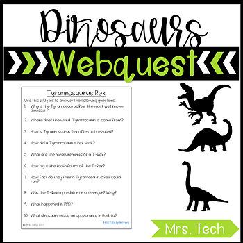 Dinosaur  Webquest