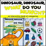 Dinosaur What Do You Munch Interactive Book of Categories
