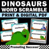 Dinosaur Activities and Games with Task Cards