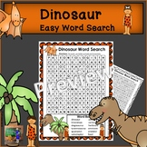 Dinosaur Word Search * EASY